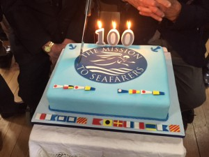 mission to seafarers 100 years cake